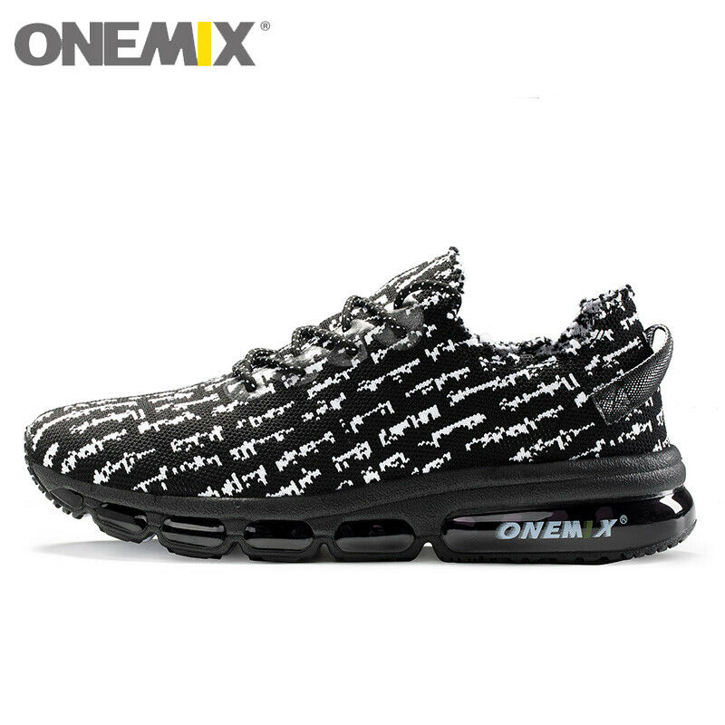 Onemix Men Casual Sport Canvas shoes Comfort Running Sneakers Lifestyle Trainers