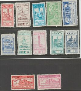 Italy-revenue-fiscal-mix-collection-cinderella-stamp-ml414-MNH-Gum-NICE
