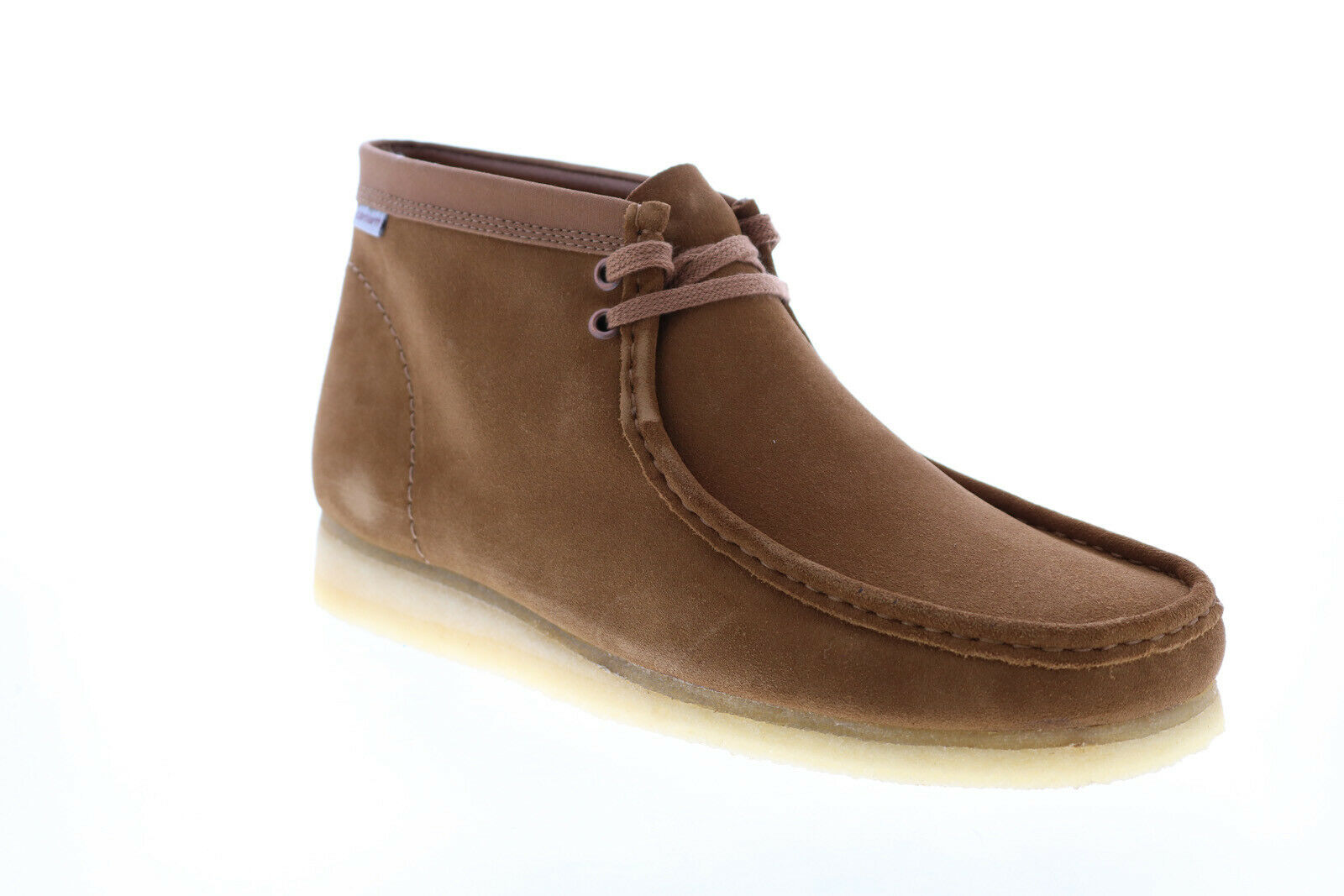 Clarks Wallabee Boot 26146193 Mens Brown Suede Lace Up Chukkas Boots