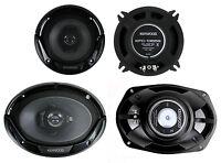2) Kenwood Kfc-1365s 5.25 250 Watt 2-way + 2) 6x9 400 Watt 3-way Car Speakers