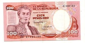 Colombia-100-pesos-oro-1-1-1986-FDS-UNC-Pick-426-b-Lotto-2937