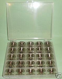 BOBBIN-BOX-25-KENMORE-VIKING-WHITE-SINGER-15-CLASS-SEWING-MACHINE-METAL-BOBBIN