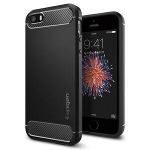 Spigen-Apple-iPhone-SE-5s-5-Rugged-Armor-Shockproof-Case-Slim-TPU-Cover