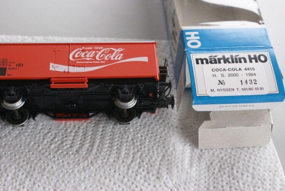 Modeltog, Märklin / marklin CoCa Cola Belgien,