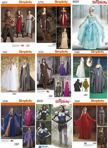 Simplicity-Sewing-Pattern-Costume-Renaissance-Fest-Gown-Dress-Elves-Wizard