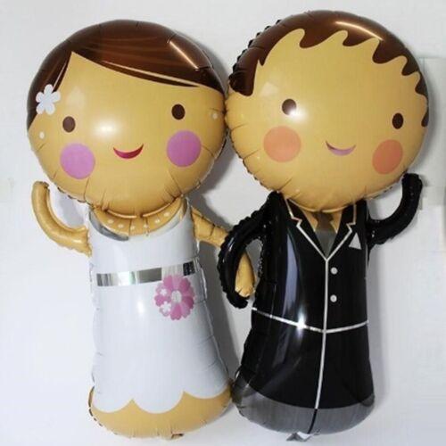 Folienballon Ehering Ehepaar Party Sekt Champagner Hochzeit Ballon Verlobung