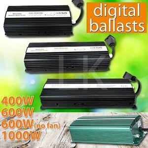 1000W-600W-400W-240V-120V-HPS-MH-Grow-Room-Hydroponic-Dimmable-Digital-Ballast
