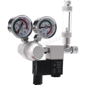 Aquarium-CO2-Regulateur-de-pression-systeme-Magnetique-Solenoide-Bulle-Compteur-Plantes