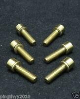 J&l Ti/titanium Stem Bolt+washer-for Syntace F99,f109,3t Arx,fsa Os-99 Csi,slk-g