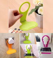 Foldable Wall Charger Charging Rack Hang Holder Stand For Cell Mobile Phone