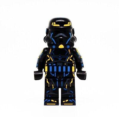 ⎡OUTSIDE BRICK x Minifigs Factory⎦Custom Stormtrooper Neon Suit Lego Minifigure