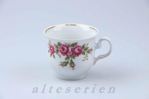 Kaffeetass.. Winterling Kirchenlamitz Sonstige Formen Rosenbouquet mit Goldrand