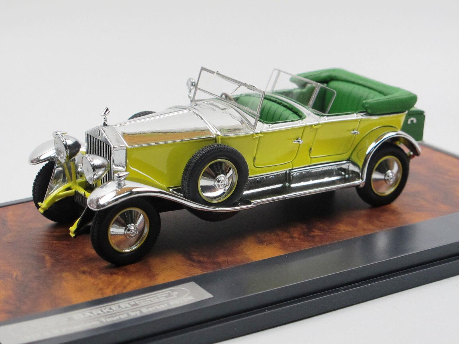 Matrice 1929 ROLLS ROYCE PHANTOM Tourer By Barker  820r jaune Aluminium 1 43