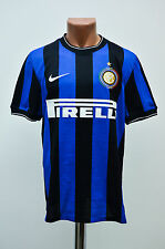 INTER MILAN ITALY 2009/2010 HOME FOOTBALL SHIRT JERSEY MAGLIA NIKE