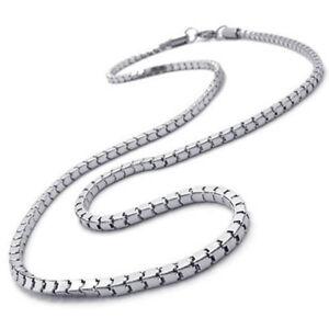 Schmuck-Herren-Kette-Edelstahl-Halskette-Silber-Breite-3mm-Laenge-55cm-R1L7