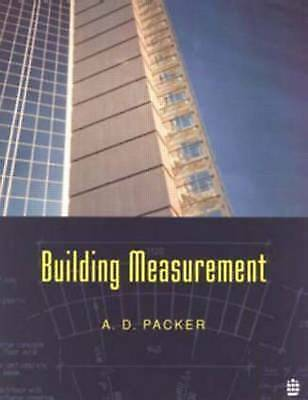 1 of 1 - Building Measurement, A.D. Packer, Good Condition Book, ISBN 9780582098169