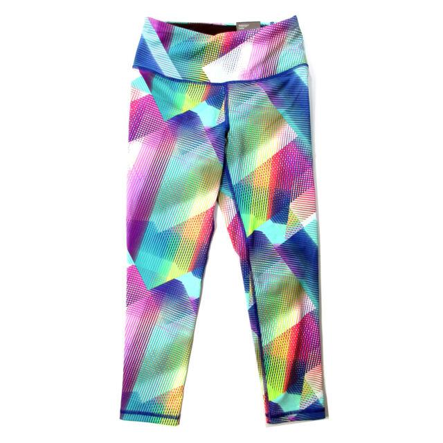 cfd14fc01bab7 Victoria's Secret VSX Sport Knockout Multi-color Capri Leggings Gym Yoga  XSmall