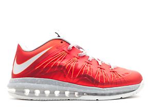23515f99f57 Used Size 13 2013 Nike Lebron X Low (10) University Red 579765-600 ...