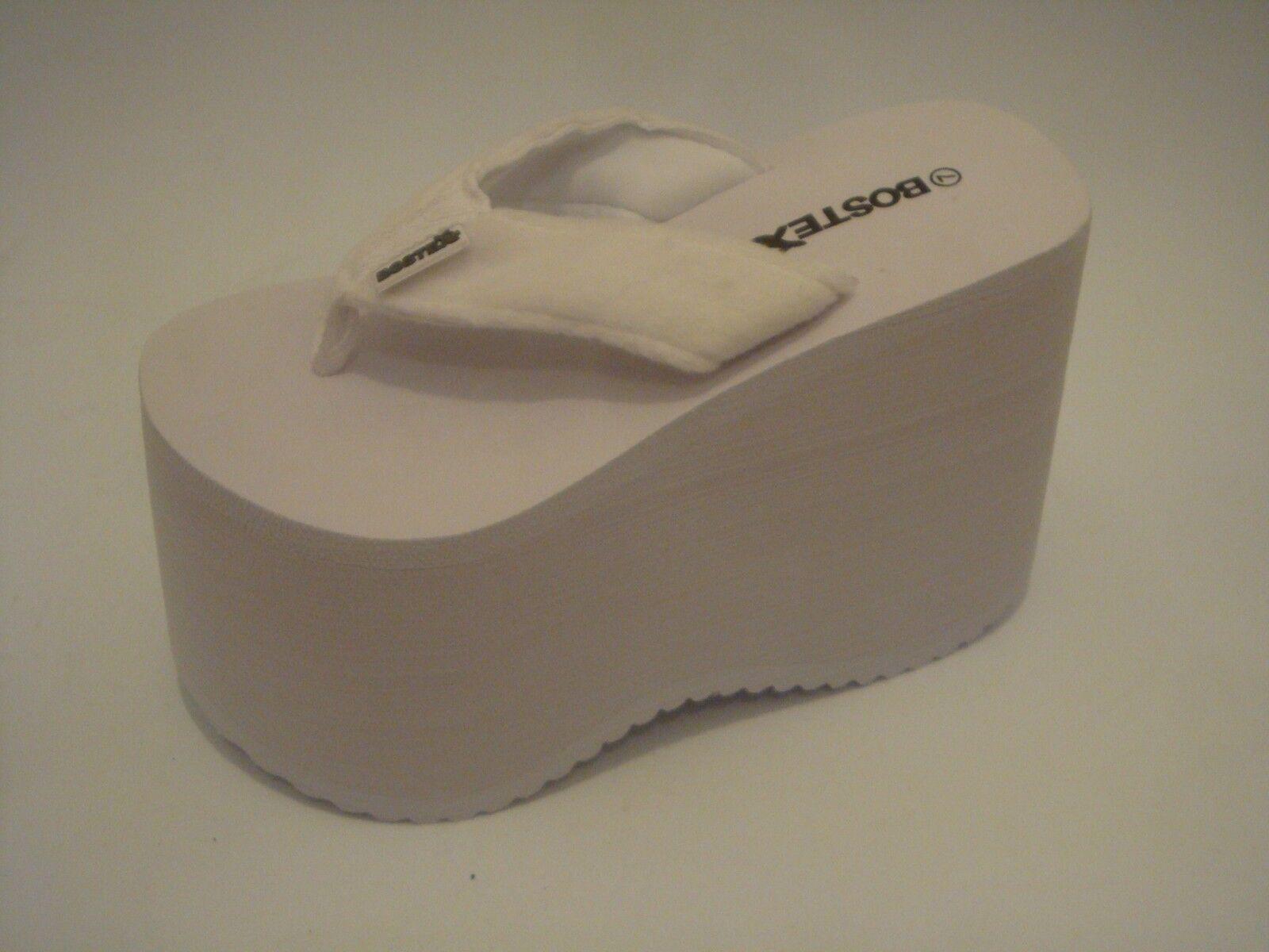 Flip Flop Sandalia de tanga bostek De Plataforma Zapatos Estilo 102w, 5.25 Pulgadas 13.3cm