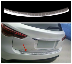 Stainless steel Rear Bumper Protector Cover Trim FOR Infiniti 2014-2018 QX70