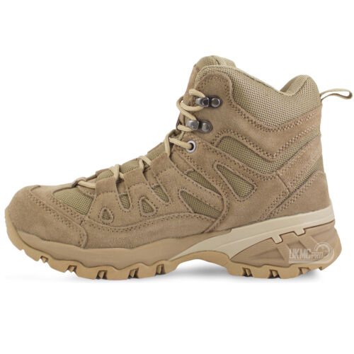 Desert Army Military Tactical Combat Patrol Squad Low Ankle Short Boots 4-12 UK