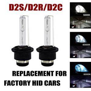 2X-New-Genuine-OEM-HID-XENON-D2S-D2R-D2C-OSRAM-Ampoules-phare-5000-6000-8000K