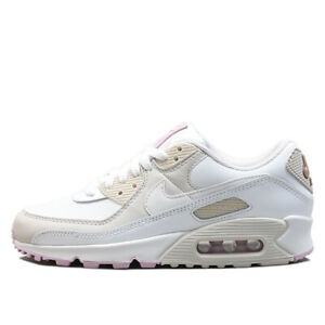 NIKE Women's Air Max 90 Lifestyle Shoes CT1873-100 White Light ...
