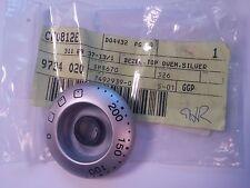 Electrolux AEG Zanussi Bezel Top Oven Silver Knob - 3116937131 #14M317
