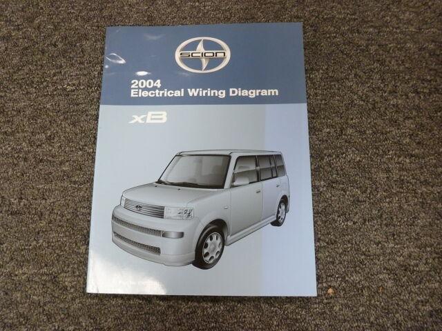 2004 Scion Xb Sedan Shop Service Electrical Wiring Diagram