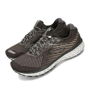 Brooks Ghost 12 Marron Beige Hommes Running Training Baskets Chaussures 110316 1D