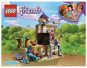 LEGO-Friends-Friendship-House-41340-Manual-Only-Instructions-How-To-Guide