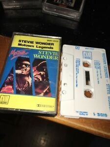 STEVIE-WONDER-MOTOWN-LEGENDS-Cassette-Tape