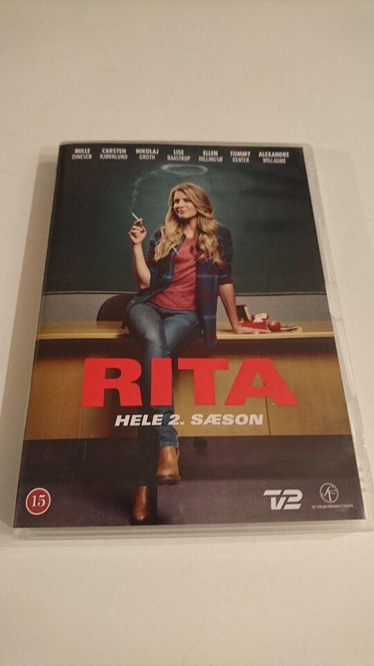 Rita (Hele 2. Sæson)(Box-set med 2 Discs), instruktør Lars