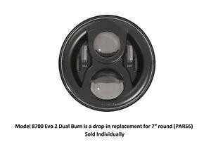JW-Speaker-8700-Evo-2-Series-Dual-Burn-7-Round-LED-Headlight-Black-Bezels