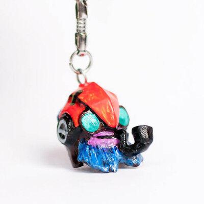 Tinker Hero Dota 2 game keychain, Boush hand-painted charm