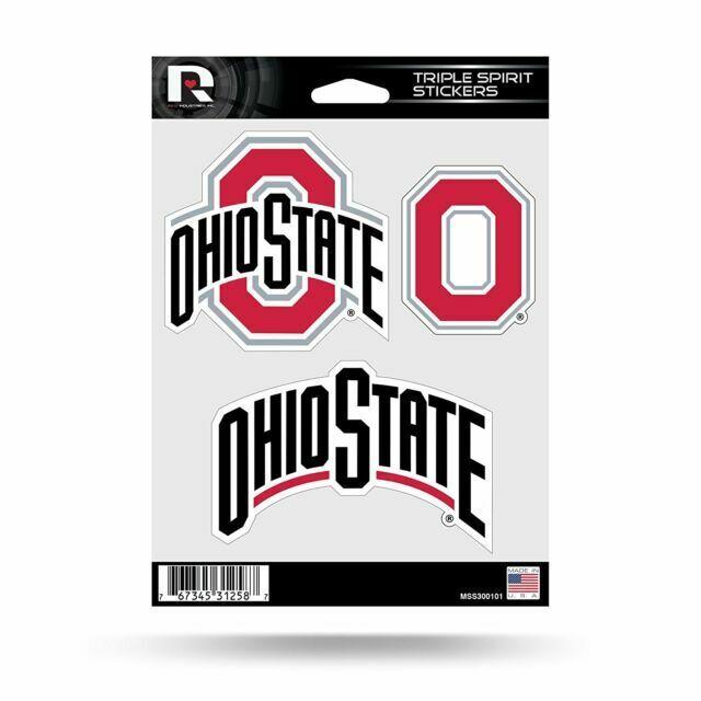 Ohio State Buckeyes NCAA Rico Industries  Die Cut Vinyl Decal