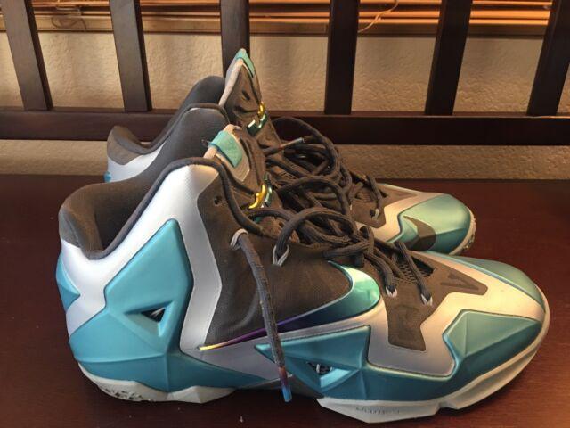 detailed look 2c79a d987c Nike LEBRON 11 XI Armory Slate Gamma Blue 2013 11.5 616175-401