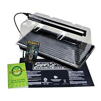 Propagation Station W/ Grow Light Includes Heat Mat Tray 7 In. Dome Super Spr...