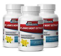 Ginkgo Herb Powder - St. John's Wort Extract 475mg - Improve Sleep Caps 3b