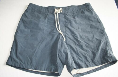 "J.Crew 7/"" Board Short 38 Swimsuit Trunks $65 NWT Faded Navy"
