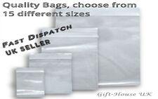 Baggies Small 50x50 Clear Bags Plastic Zipper Bags100x100 Large Bag Reseal Able