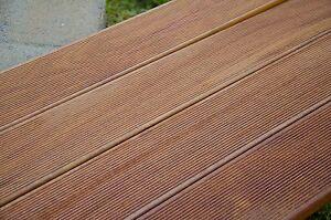 Top pavimento in legno da esterno decking cumaru teak americano