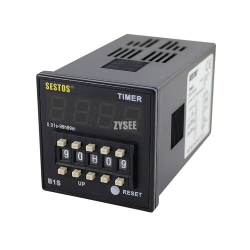 Digital Timer Relay B1S-R-24 Time Switch 12-24V OMRON Relay controller control