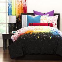 Crayola Cosmic Burst Brushed Microfiber 3-piece Comforter Set