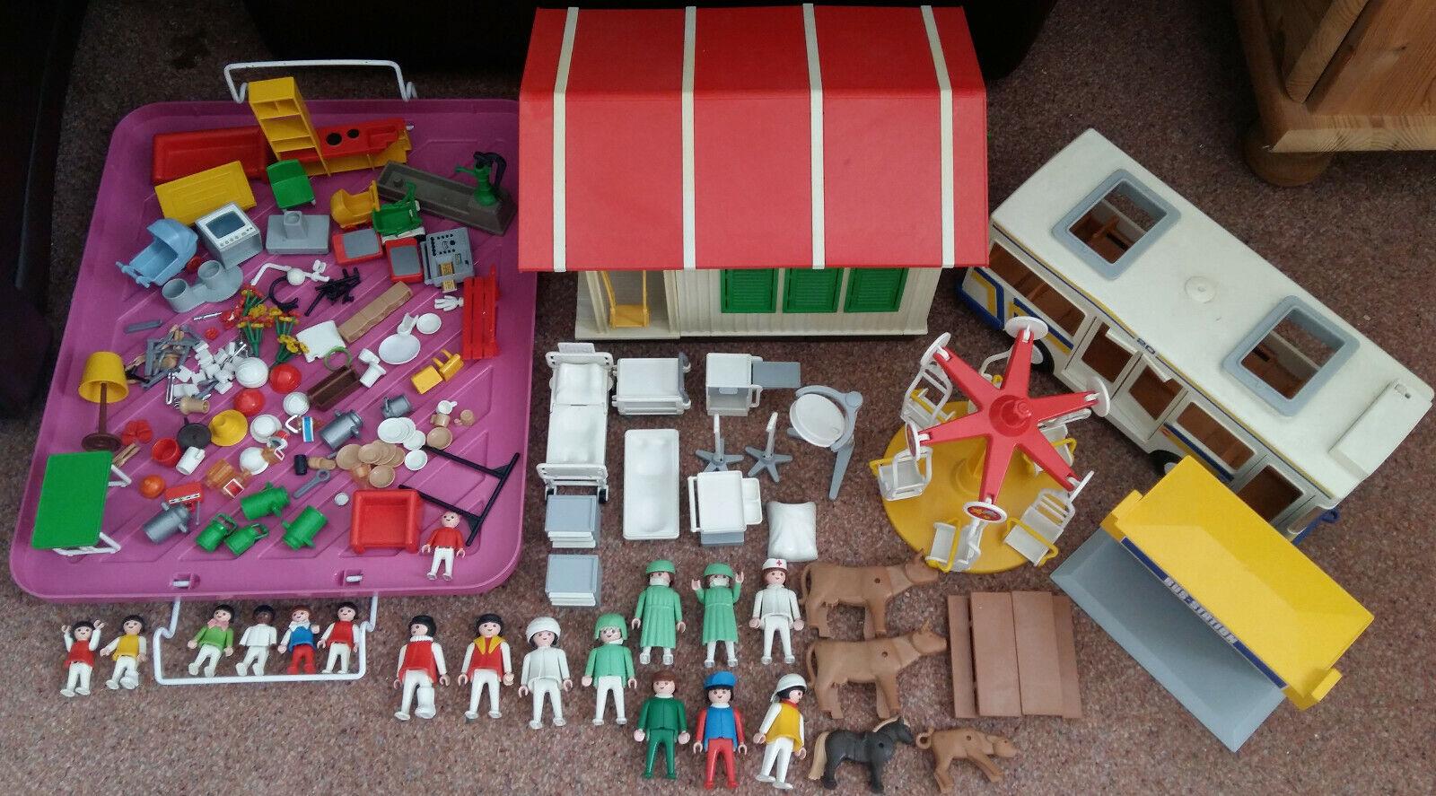 COLLEZIONE Playmobil la raccolta  autobus casa Adhamiya vortice personaggi rarità PLAYMOB  garanzia di credito