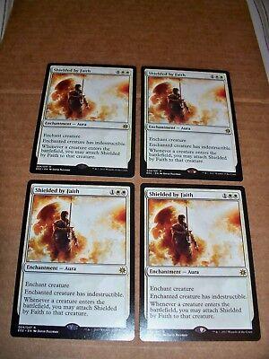 MTG Magic 4x Quicksilver Amulet Explorers of Ixalan NM//M