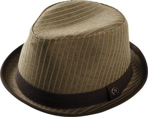 Sector 9 Peakin' Fedora, Brown HAT Large/x-Large Nine MHS115