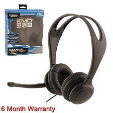 Komodo Live Chat Headset For PS4 Playstation 4 NEW BLACK