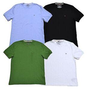 tommy hilfiger mens crew neck t shirt american tee short. Black Bedroom Furniture Sets. Home Design Ideas