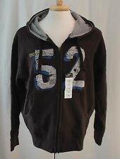 Simply for Sports, Large, Viper Brown/FB 52 Zippered Hoodie, New with Tags